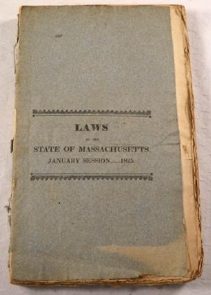 Image for Laws of the Commonwealth of Massachusetts, Passed by the General Court...