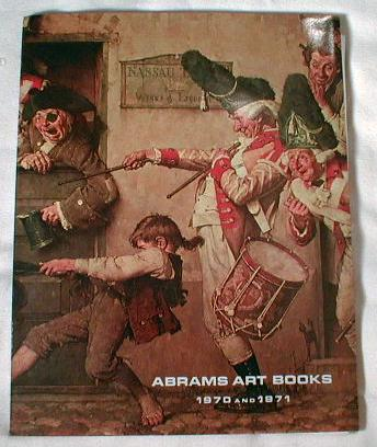 Image for Complete Catalogue: Abrams Art Books 1971 and 1972