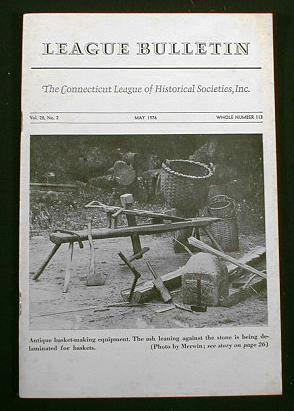 Image for League Bulletin - The Connecticut League of Historical Societies, Inc.  Vol. 28, No. 2, May 1976