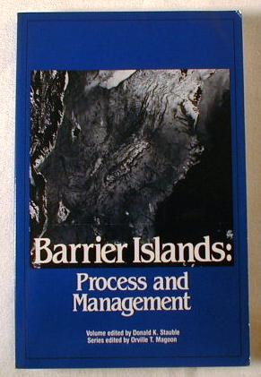 Image for Barrier Islands : Process and Management