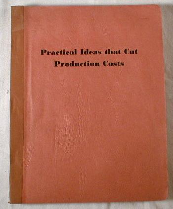 Image for Practical Ideas That Cut Production Costs
