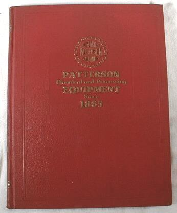 Image for Patterson Chemical and Processing Equipment - Since 1865 - Catalog 473