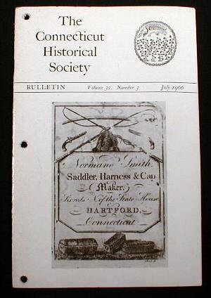 Image for The Connecticut Historical Society Bulletin.  Vol. 31, No. 3, July 1966