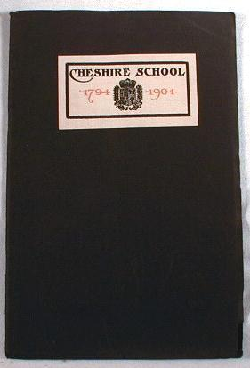 Image for A Book of the Cheshire School : The Episcopal Academy of Connecticut