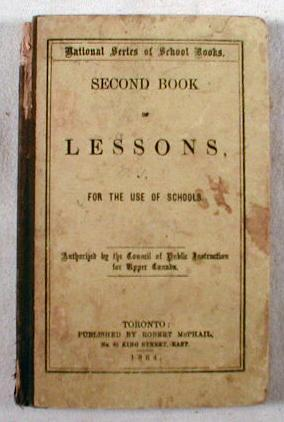 Image for National Series of School Books.  Second Book of Lessons : For the Use of Schools.  Authorized by the Council of Public Instruction for Upper Canada