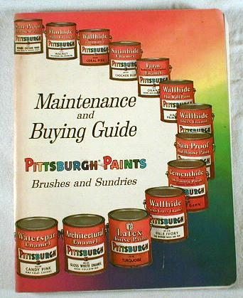 Image for Maintenance and Buying Guide : Pittsburgh Paints, Brushes and Sundries