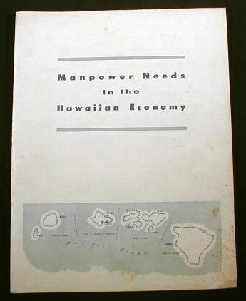 Image for Manpower Needs in the Hawaiian Economy