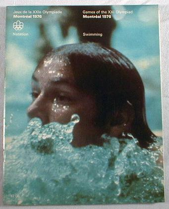 Image for Games of the XXI Olympiad - Montreal 1976.  Swimming