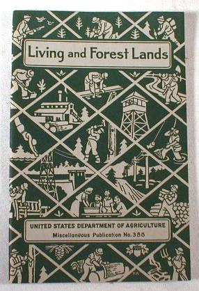 Image for Living and Forest Lands.  U.S. Department of Agriculture Miscellaneous Publication No. 388