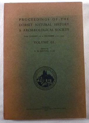 Image for Proceedings of the Dorset Natural History & Archaeological Society - From January 1st to December 13st, 1939 - Volume 61