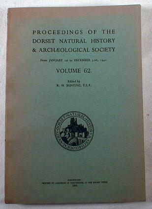 Image for Proceedings of the Dorset Natural History & Archaeological Society - From January 1st to December 13st, 1940 - Volume 62