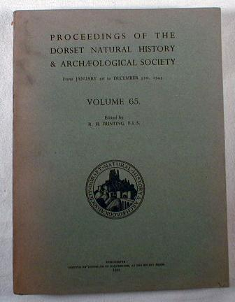 Image for Proceedings of the Dorset Natural History & Archaeological Society - From January 1st to December 13st, 1943 - Volume 65