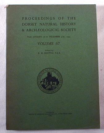 Image for Proceedings of the Dorset Natural History & Archaeological Society - From January 1st to December 13st, 1945 - Volume 67