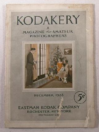 Image for Kodakery: A Magazine for Amateur Photographers.  December 1928