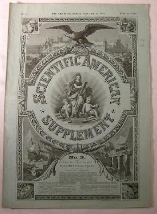 Image for Scientific American Supplement No. 3 - Week of January 15, 1876