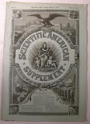 Image for Scientific American Supplement No. 15 - Week of April 8, 1876