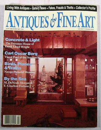 Image for Antiques & Fine Art.  Volume VII, No. 2 - January/February 1990