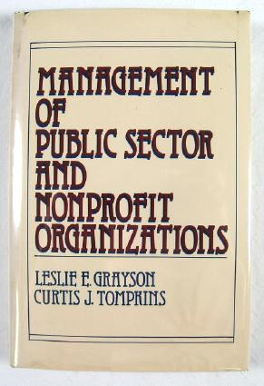 Image for Management of Public Sector and Nonprofit Organizations