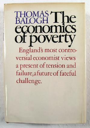 Image for The Economics of Poverty