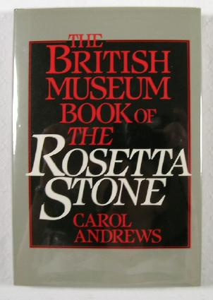 Image for The British Museum Book of the Rosetta Stone