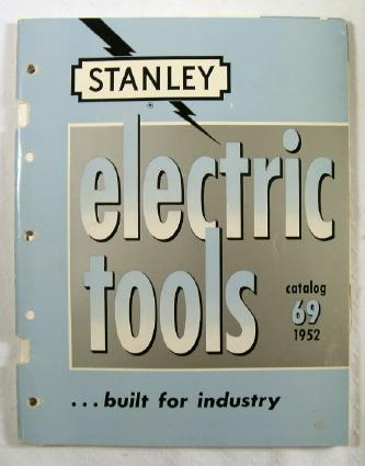 Image for Electric Tools, Catalog No. 69 [1952]