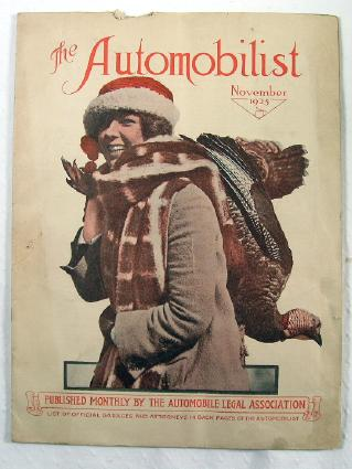 Image for The Automobilist, November 1925
