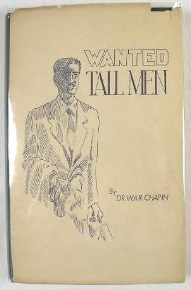 Image for Wanted: Tall Men.  History of Medicine in Springfield