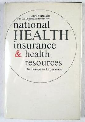 Image for National Health Insurance and Health Resources : The European Experience