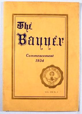 Image for The Banner : Commencement 1934 - Rockville High School [Connecticut]:  June 1934, Vol. XXI, NO. 4
