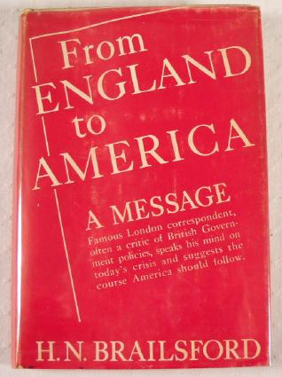 Image for From England to America: A Message