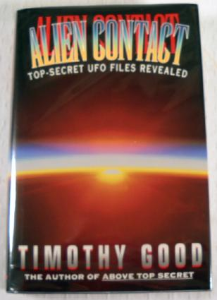 Image for Alien Contact: Top-Secret UFO Files Revealed