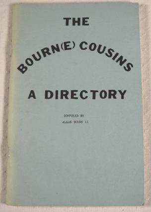 Image for The Bourn(e) Cousins: A Directory