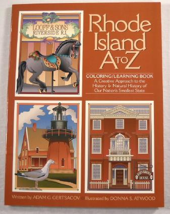 Image for Rhode Island A to Z Coloring / Learning Book
