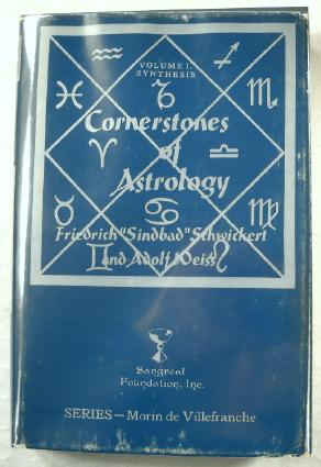 Image for Cornerstones of Astrology. Volume I, Synthesis.  Series Morin De Villefranche