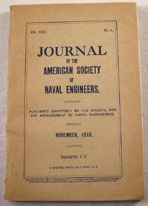 Image for Journal of the American Society of Naval Engineers. Vol. XXXI [31], No. 4