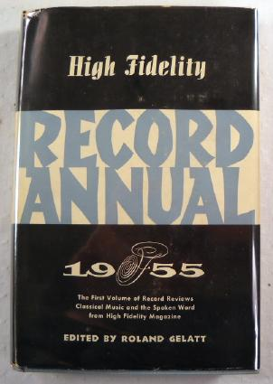 Image for High Fidelity Record Annual 1955