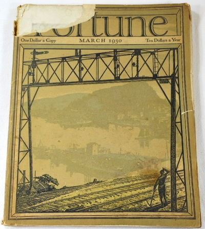 Image for Fortune Magazine. March 1930. Volume I, Number 2