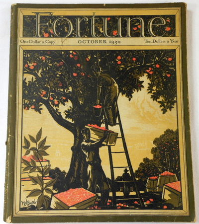Image for Fortune Magazine. October 1930. Volume II, Number 4