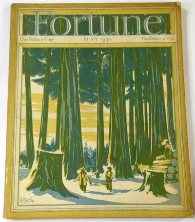 Image for Fortune Magazine. May 1930. Volume I, Number 4