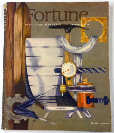 Image for Fortune Magazine. September 1944. Volume XXX, Number 3