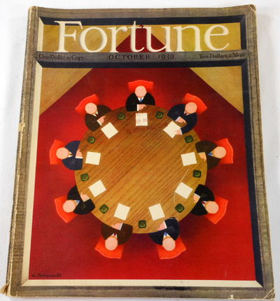 Image for Fortune Magazine. October 1939. Volume XX, Number 4
