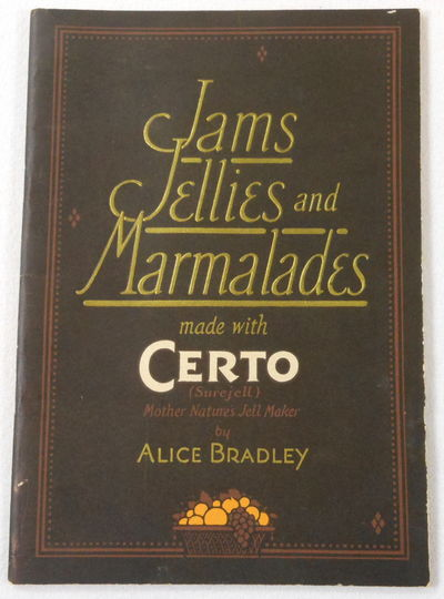 Image for Jams Jellies and Marmalades Made with Certo (Surejell), Mother Nature's Jell Maker