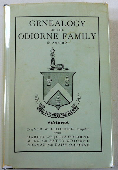 Image for Genealogy of the Odiorne Family in America