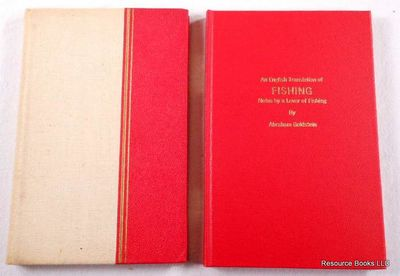 Image for Fishing: Notes of a Fisherman. Together with An English Translation of Fishing: Notes By a Lover of Fishing