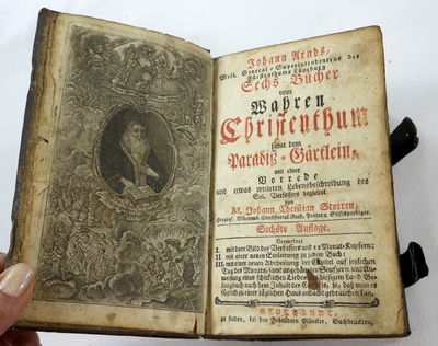 Image for Sechs Bucher Vom Wahren Christentum; Bound with Paradiesgartlein, Others