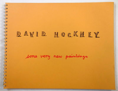 Image for David Hockney: Some Very New Paintings