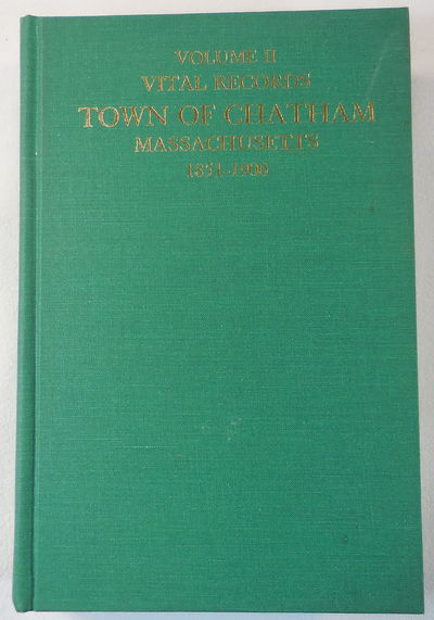 Image for Vital Records, Town of Chatham Massachusetts 1851-1900