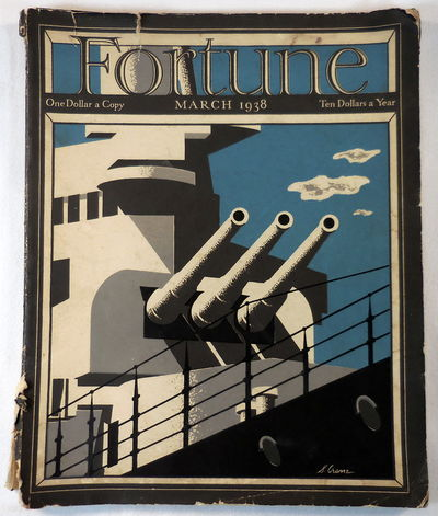 Image for Fortune Magazine. March 1938. Volume XVII, Number 3