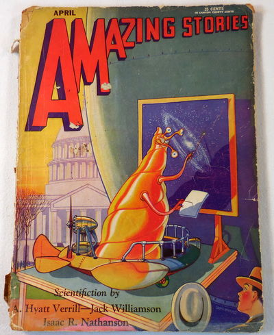 Image for Amazing Stories Magazine Scientifiction. April 1930. Volume 5, No. 1