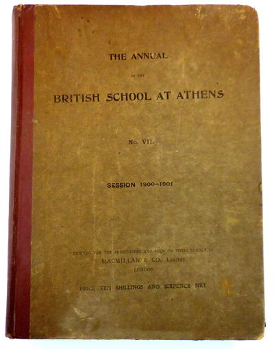 Image for The Annual of the British School at Athens No. VII Session 1900-1901